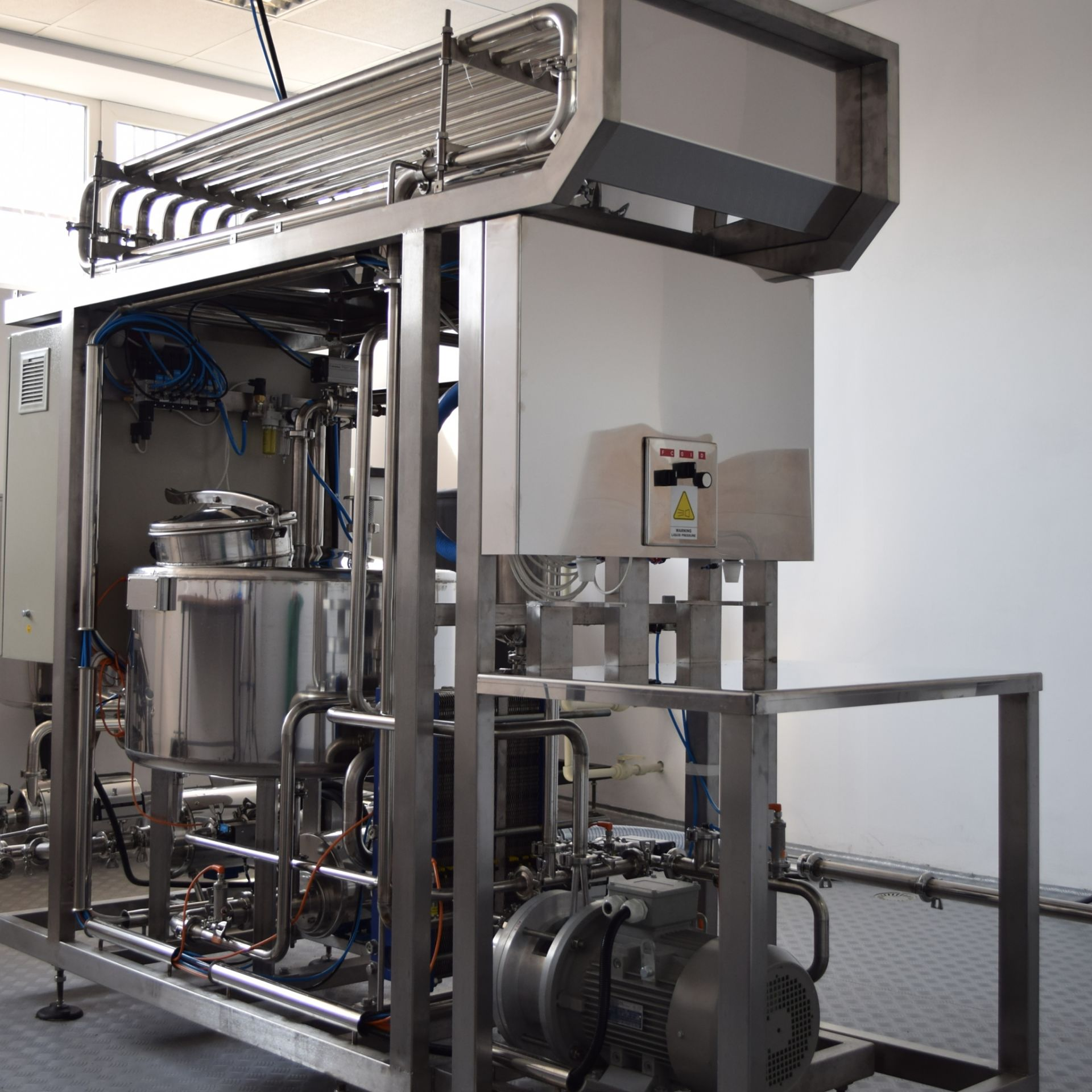 egg pasteurizer by dion engineering
