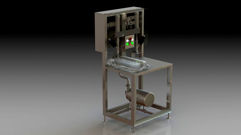 semi-automatic filling machine by dion engineering