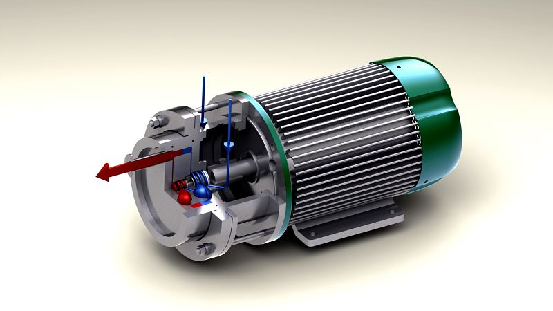 rotor spinning heater by dion engineering, shock heater